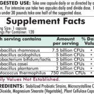 Pro-Bio Gold™ - Hypoallergenic - 120 capsules - INGREDIENTS