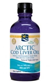Arctic Cod Liver Oil - Lemon 8oz