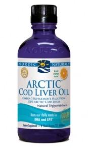 Arctic Cod Liver Oil - Orange 8oz