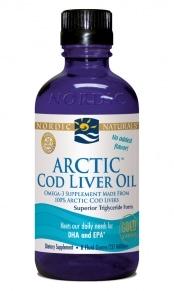 Arctic Cod Liver Oil - Plain 8oz