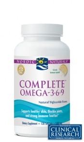 Complete Formula (Omega 3-6-9) - Lemon - 120 capsules