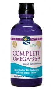 Complete Formula Omega (3-6-9) - Lemon - 8oz liquid