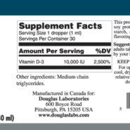 LIQUID VITAMIN D-3 - 30ml - INGREDIENTS
