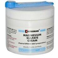 Magnesium Sulfate Cream - 4oz / 113 grams