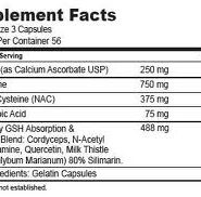 MaxGXL 180 capsules (30-Day supply) - INGREDIENTS