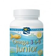 Omega 3-6-9 Junior - Lemon - 90 capsules