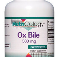 Ox Bile 500 mg - 100 Veggie capsules