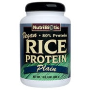 Rice Protein Powder - Plain (Vegan) - 21 oz