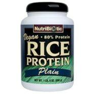 Rice Protein Powder - Plain (Vegan) - 21 oz