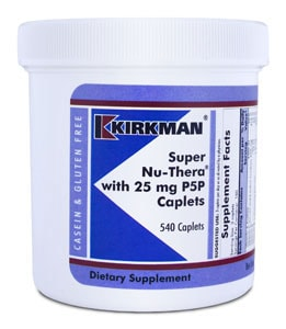 Super Nu-Thera® with 25 mg P-5-P Caplets - 540 caplets