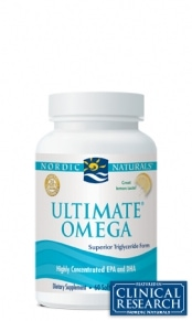 Ultimate Omega - Lemon Capsules - 60 capsules
