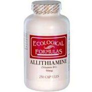 Allithiamine 50mg (Vitamin B-1), 250 capsules