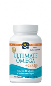 Ultimate Omega +CoQ10™ (Unflavored) - 60 softgels