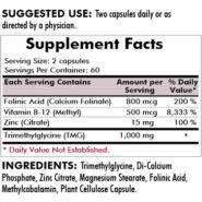 Glutathione Assist Hypoallergenic - 120 capsules - INGREDIENTS