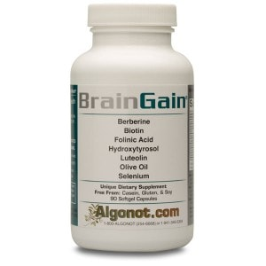 BrainGain - 90 softgels