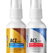 Total Body Detox 2oz System (ACS 200, ACZ Nano), 2 bottle set