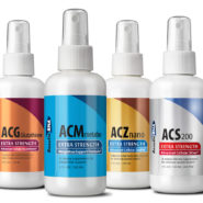 Ultimate Body Weight Loss System 2oz (ACZ Nano, ACG Glutathione, ACS200, Metabo Care), 4 bottle set