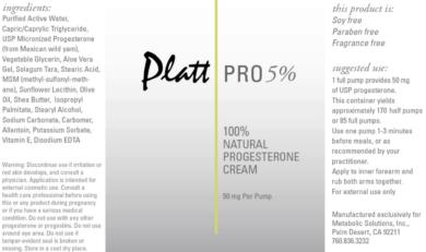 Platt Pro 5% - 3oz