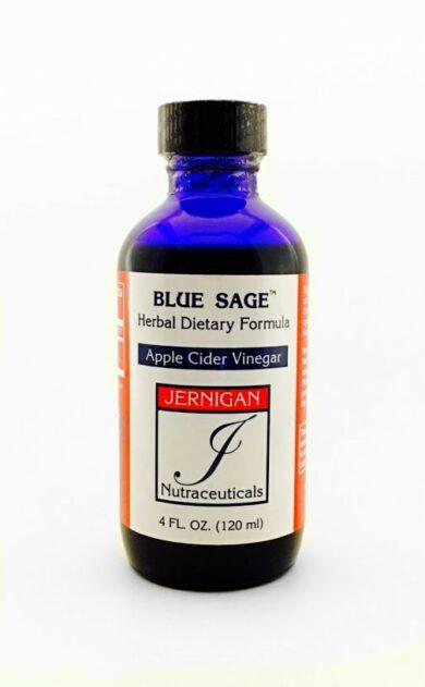 Blue Sage with Apple Cider Vinegar (2 fl. oz. bottle)