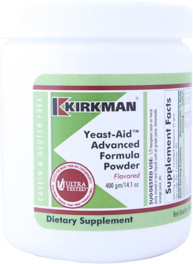 Yeast Aid Advanced Formula Powder Flavored - 400 grams