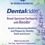 Dentalcidin Broad Spectrum Toothpaste with Biocidin 4 oz.