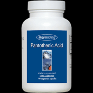 Pantothenic Acid (500mg) - 90 capsules