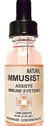 Immusist Natural - 1/2oz (720 drops)