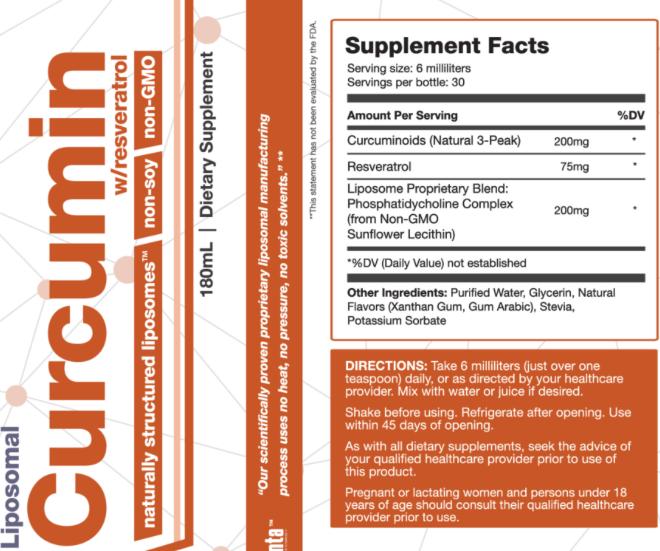 Lipo-Curcumin-Resveratrol